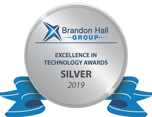 Brandon Hall Group Silver Award – Course Container