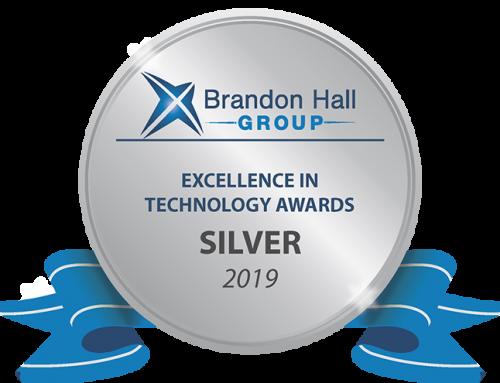 Brandon Hall Group Silver Award – Course Container